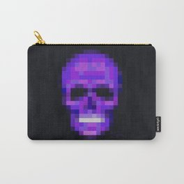 Skull Pixelated Full Carry-All Pouch