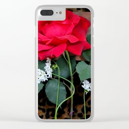 Love Springs Eternal - With A Little Help Clear iPhone Case