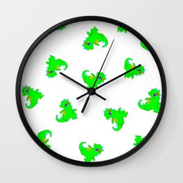 Reptar Wall Clock