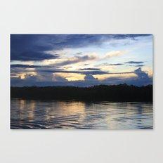 Amazonian Water Canvas Print