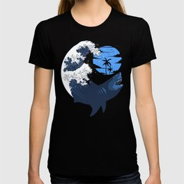 Wave megalodon T-shirt