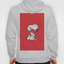 snoopy love miss hug Hoody