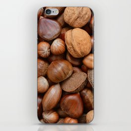 Mixed nuts iPhone Skin