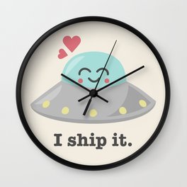 i ship it. Wall Clock
