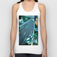 swimming Tank Tops featuring Swimming by Robin Curtiss