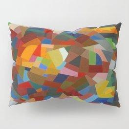Otto Freundlich Rosace ii Abstract Acrylic Painting Modern Geometric Colorful Art Pattern Pillow Sham
