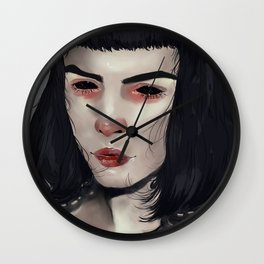 Lost in your eyes Wall Clock