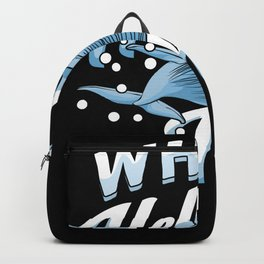 Whale Hello There Marine Biologist Gift Backpack