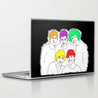 1d Laptop & iPad Skins featuring 1D punked by Rebecca Bear
