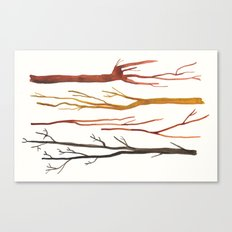 moleskine sticks Canvas Print