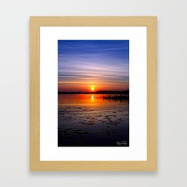 Sit Back And Relax... Framed Art Print