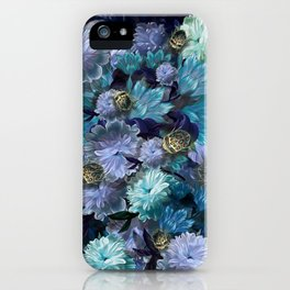 """""""Baroque floral with bugs"""" iPhone Case"""
