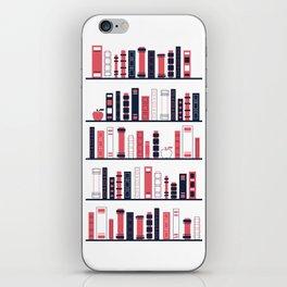 Shelves of Books Stylized iPhone Skin