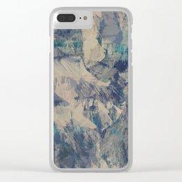 South Rim #1 Clear iPhone Case