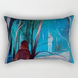 Tricked You Rectangular Pillow