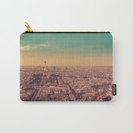 Paris - Sunset over the City of Lights Carry-All Pouch