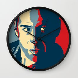 Hope in John McClane Wall Clock