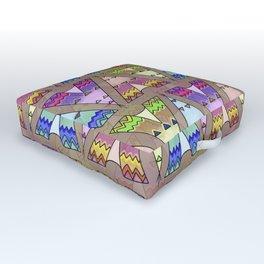 Teepee Outdoor Floor Cushion