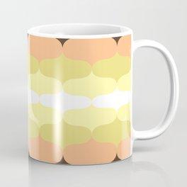 Retro 70s Pattern Mushroom colors Coffee Mug