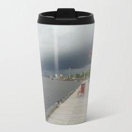Rain Coming Travel Mug