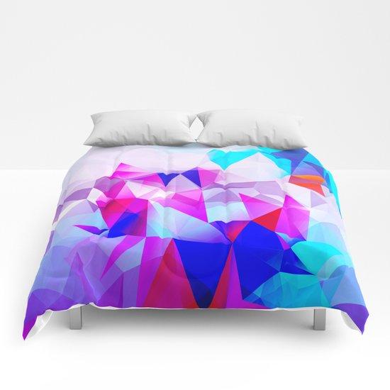 Polygons Comforters