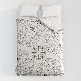 Black & White Coordination Comforters