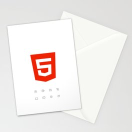 HTML5 Brand Launch Stationery Cards