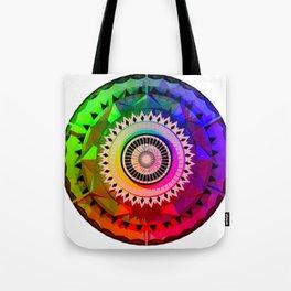 Graphic Mandala HD Tote Bag