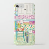 kitchen iPhone & iPod Cases featuring Kitchen by Maia Ferrell