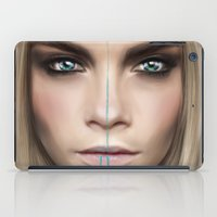 cara iPad Cases featuring Cara by Anna Sun