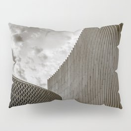 Texturized Brutalism Pillow Sham