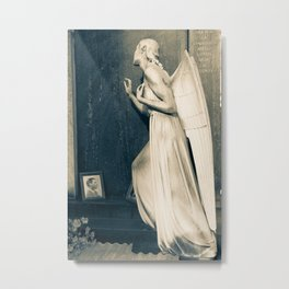 Mourning Angel Metal Print