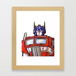 Optimum Primed - bust Framed Art Print