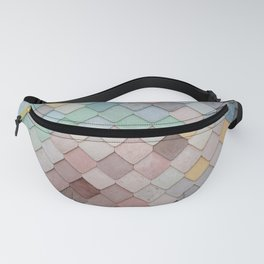 Pastel Rainbow Mermaid Pattern Fanny Pack
