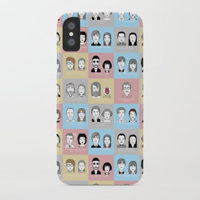 Sad Movie Couples iPhone Case