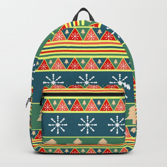 Christmas pattern II Backpack