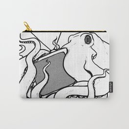 Octopaused (Blank TV) Carry-All Pouch