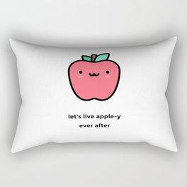 JUST A PUNNY APPLE JOKE! Rectangular Pillow
