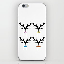 """Deardeer """"Moustache"""" iPhone Skin"""