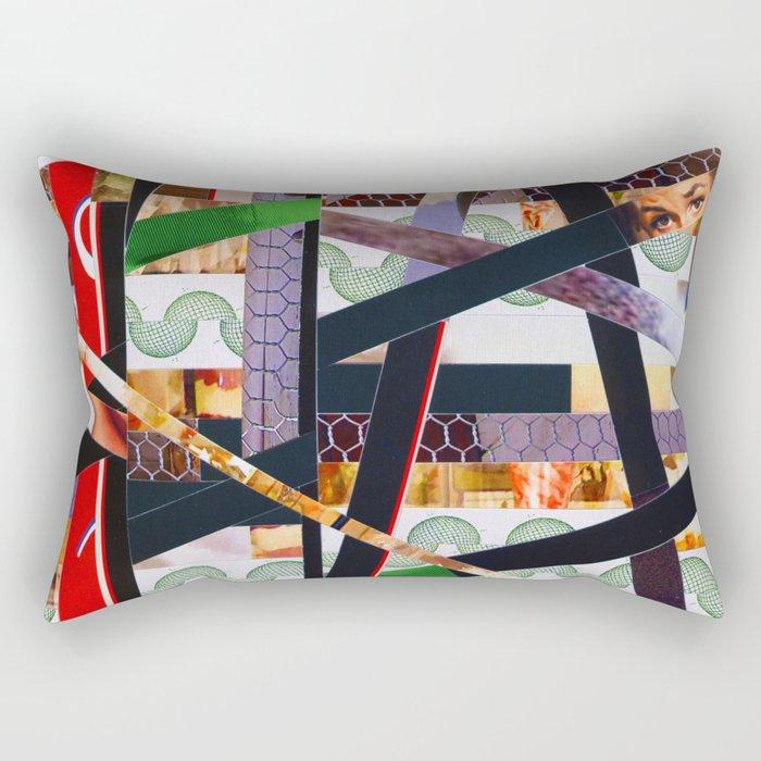 Ruben (stripes 19) Rectangular Pillow