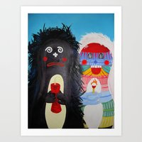Dr. and Mrs. Roberts Art Print