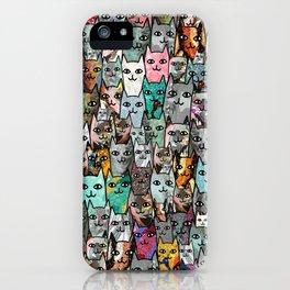 Gemstone Cats iPhone Case
