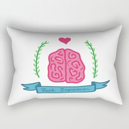 F Depression Rectangular Pillow