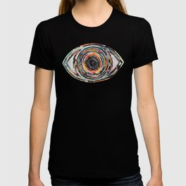 Rainbow Eyes Collage T-shirt