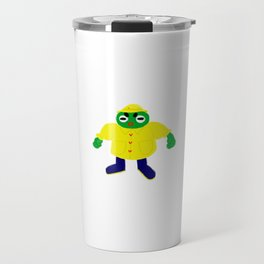 Frog in a Raincoat Travel Mug