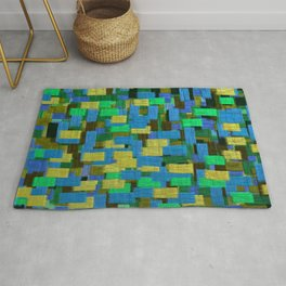 Twilight Musings Strong Strokes Rug