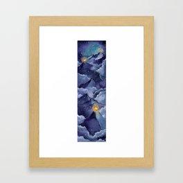 The Beacons Framed Art Print