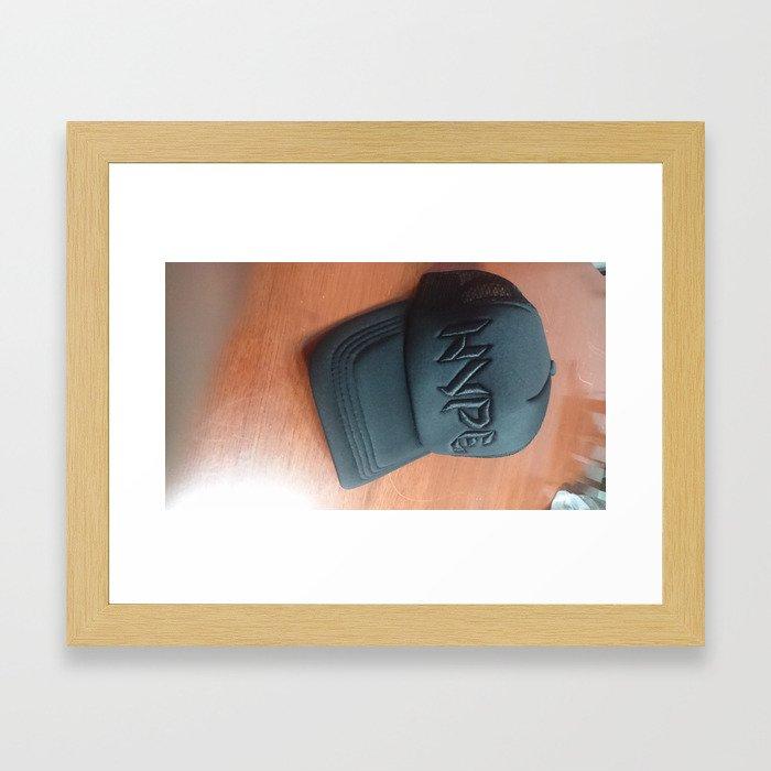 Hype. Custom Design Framed Art Print