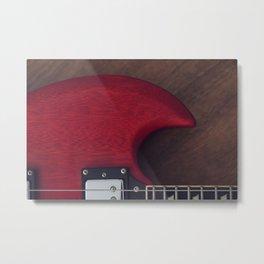 Devil's Horn Metal Print