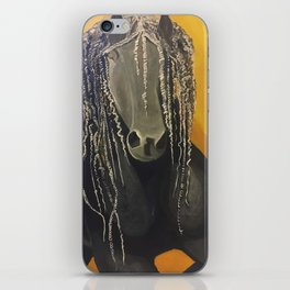 Yellow Horse iPhone Skin